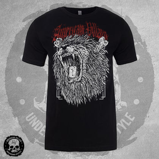 Mens Fierce Lion Tee