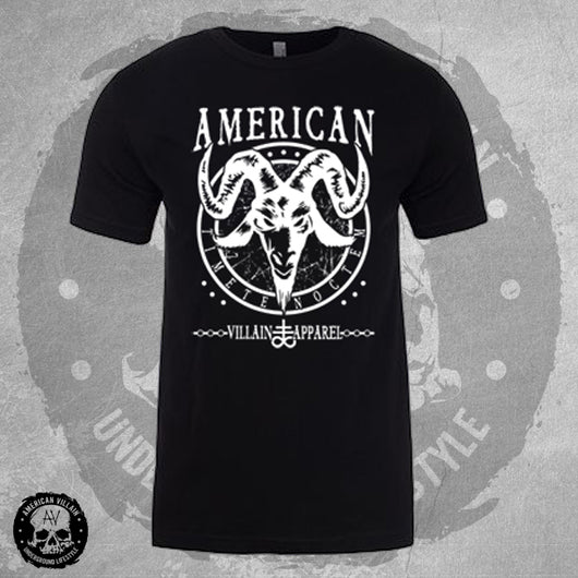 Mens Black Fear The Night Tee