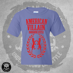 Youth Violet Fighting Lion Tee
