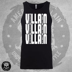 Mens Triple Villain Tank