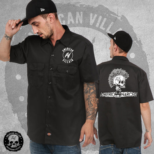 American Anarchy Skull Dickies