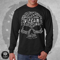 Villain Language Mens Long Sleeve Tee