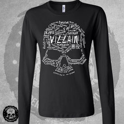 Villain Language Womens Long Sleeve