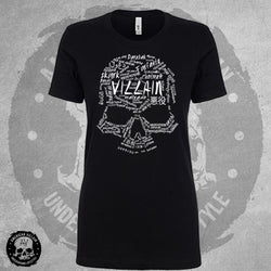 Villain Language Womens Tee