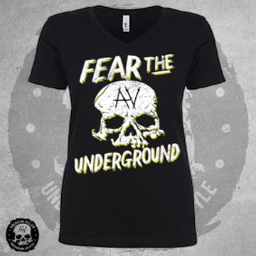 Fear The Underground Womens Vee