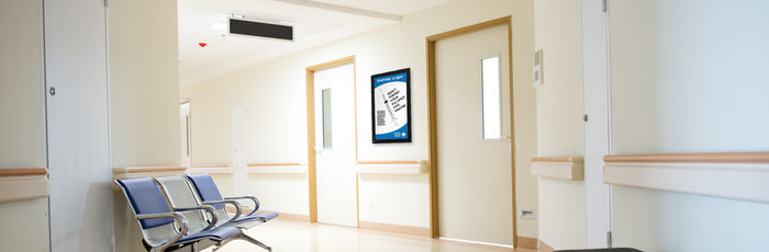 Enhancing Hospital Efficiency with Digital Signage