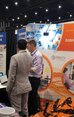 Nixplay Signage and ADCOMM at AAHOA 2019