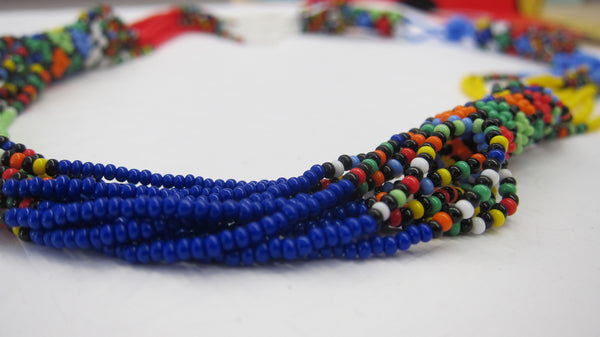 Woven Bead Necklaces