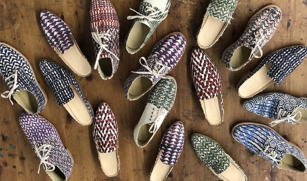 Gregory Parkinson and George Esquivel Made a Capsule of Vibrant Block-Printed Loafers Just in Time for Summer