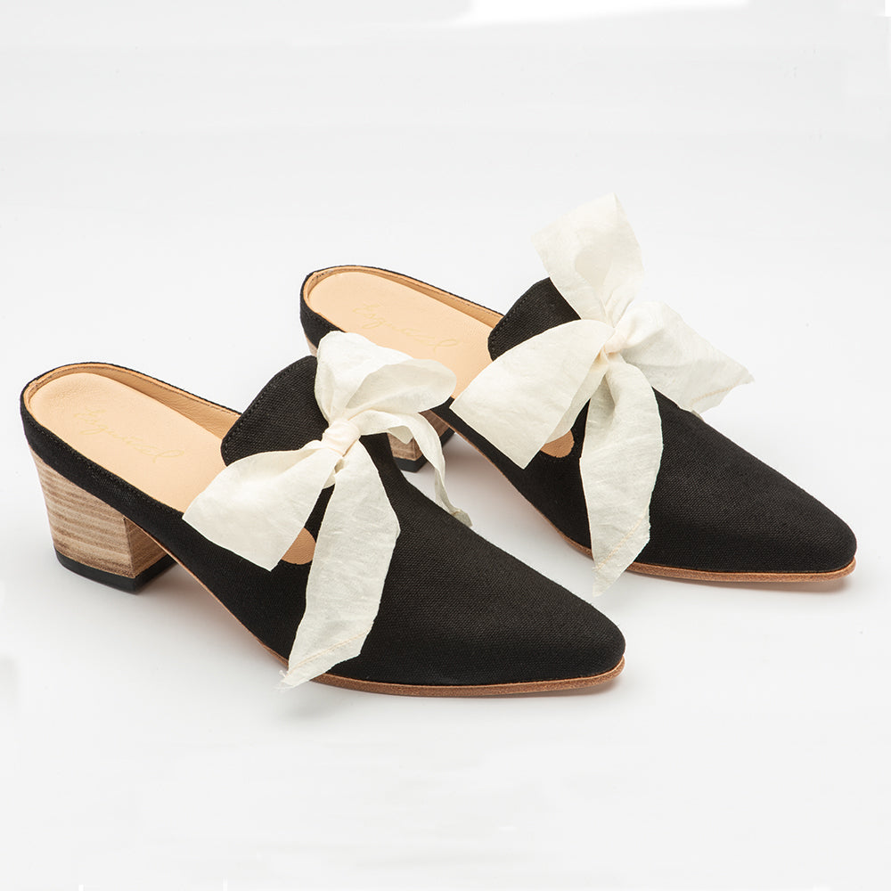 Women's Black Canvas Aurora Shoe