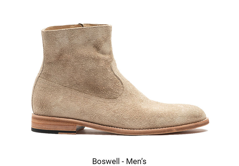 Boswell Made To Order Mens Tan Boot
