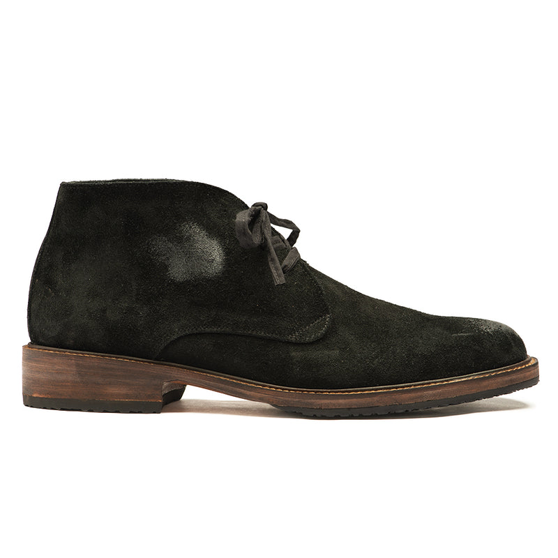 Men's Black Suede Chuck Boot