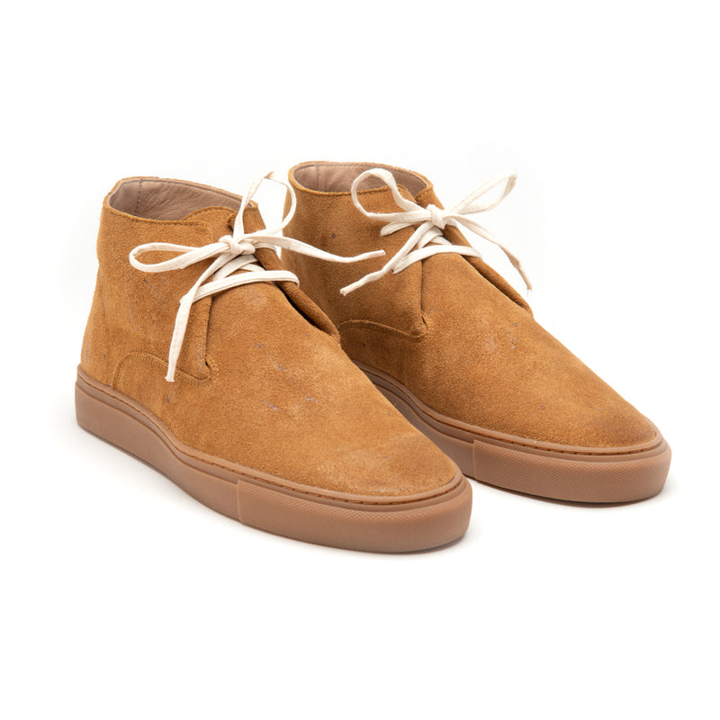 Men's Dandy Hi Weekender Cognac Suede Shoe