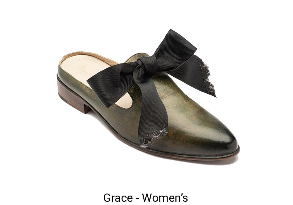 Women's Made To Order Green Grace Shoe