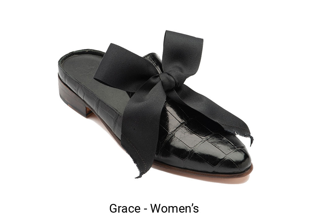 Women's Made To Order Black Grace Shoe