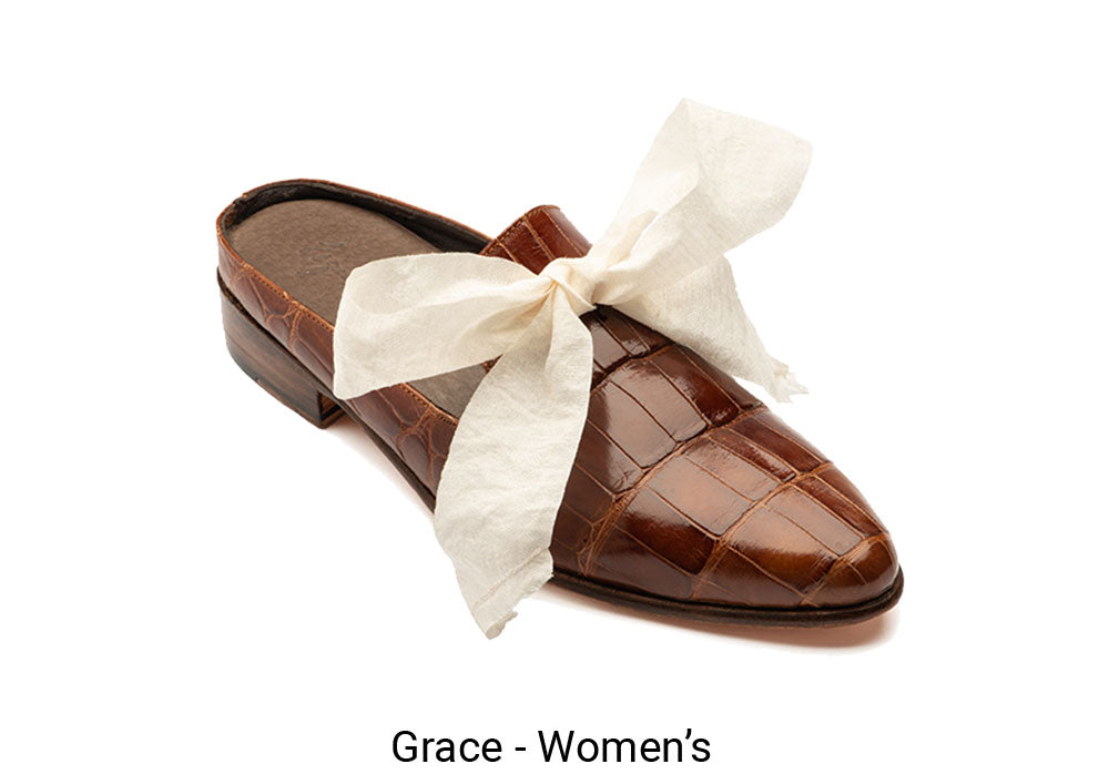 Women's Made To Order Brown Grace Shoe