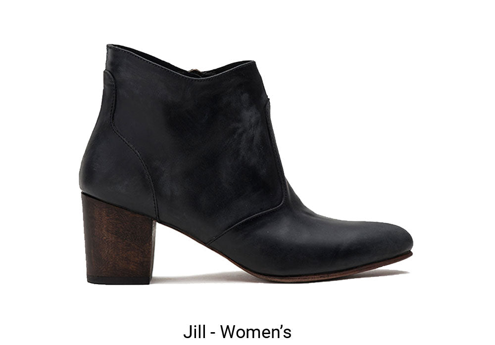 Black Jill Women's Made To Order Shoe