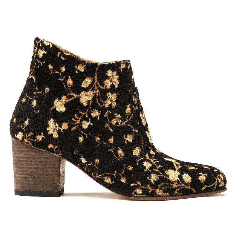 Floral Jill Womens Slip-On Boot