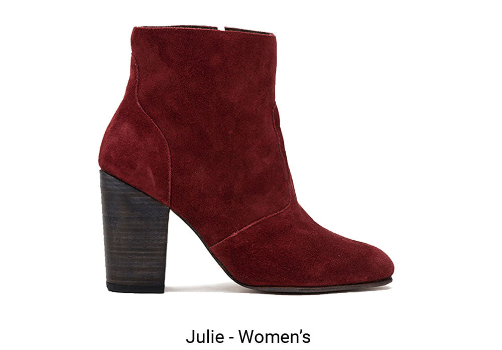Red Julie Women's Made To Order Shoe
