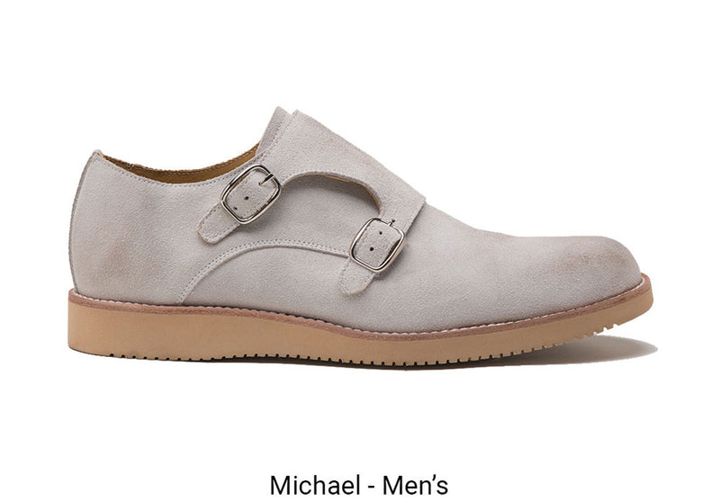 Michael Men's White Made To Order Shoe