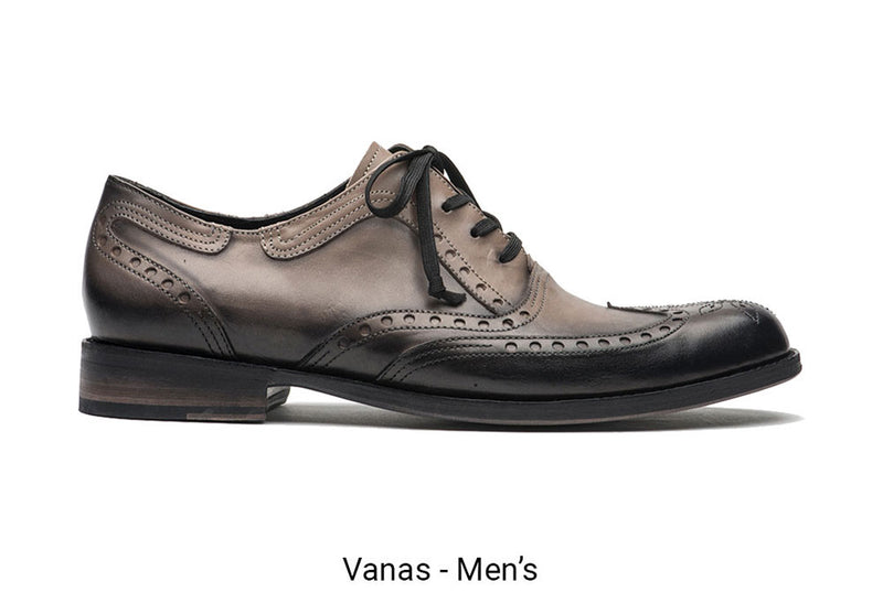 Vanas Gray Men's Made To Order Shoe