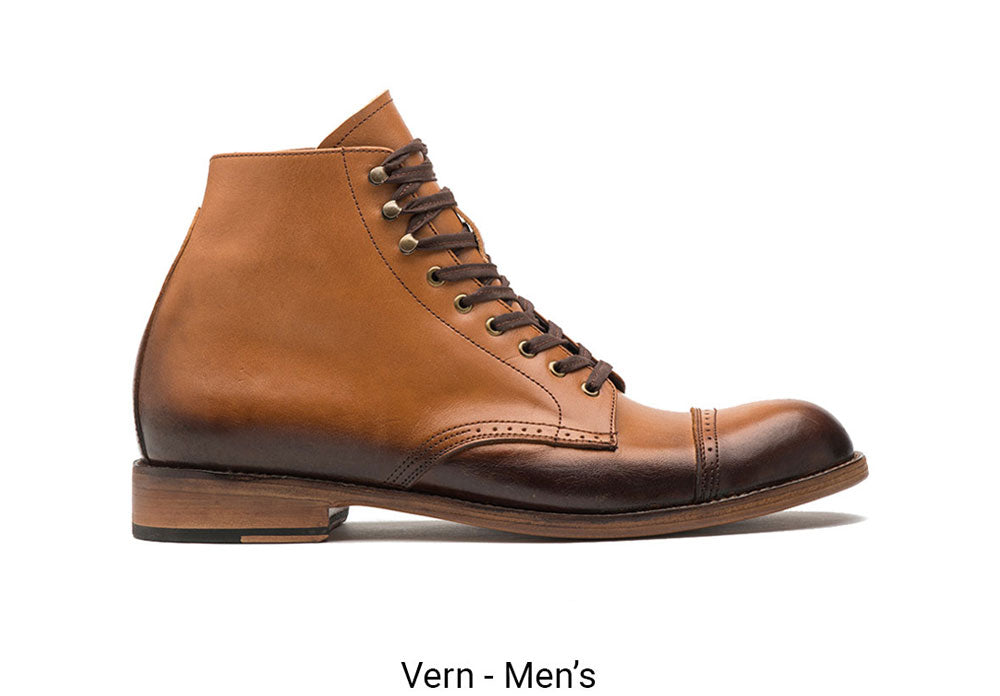 Vern Tan Men's Made To Order Boot