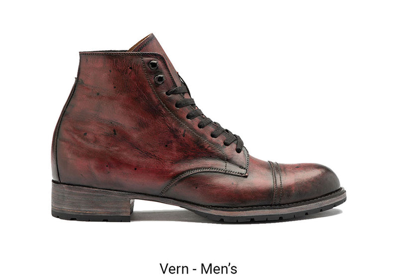 Vern Red Men's Made To Order Boot