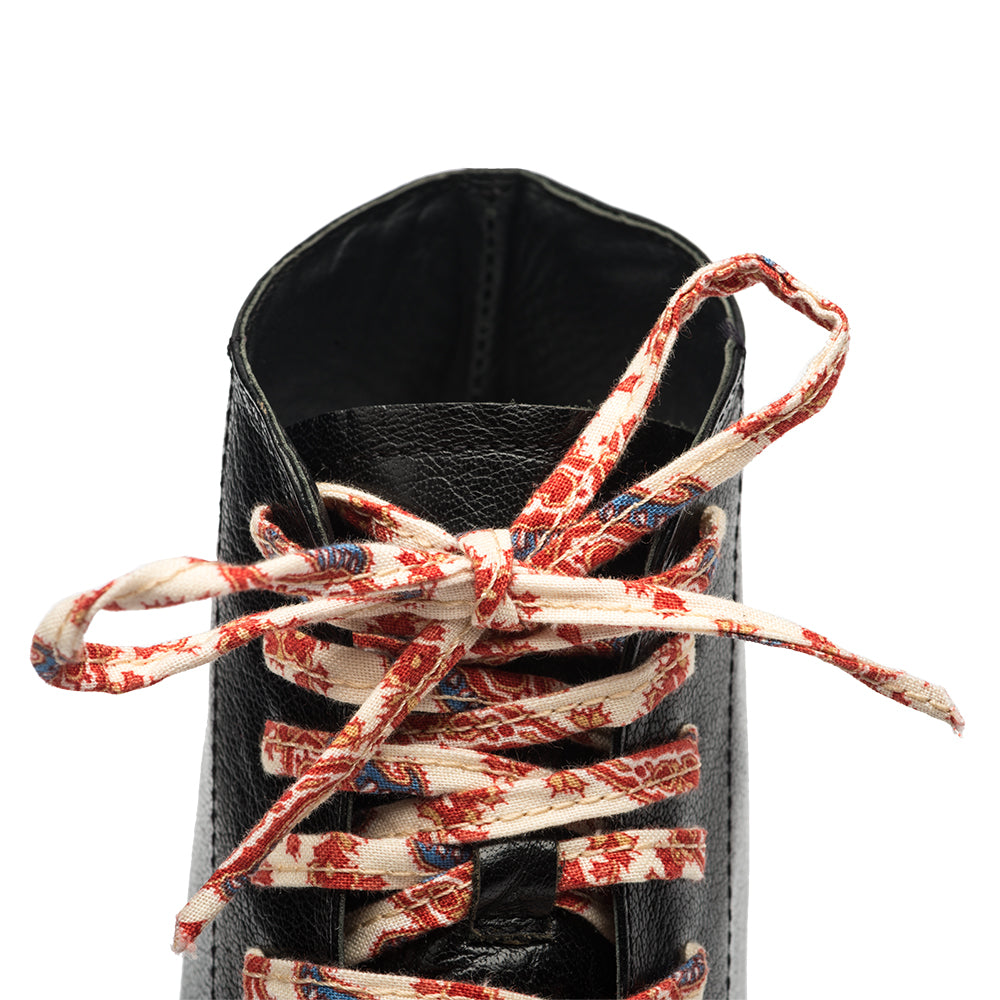 Off-White Floral Shoe Laces