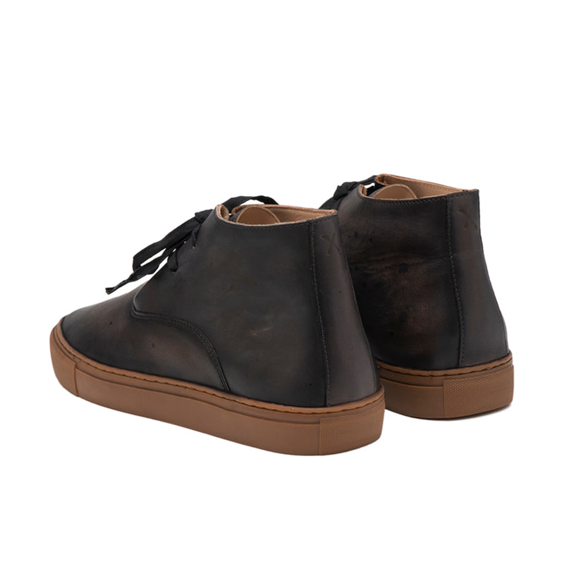 Men's Dandy Hi Weekender Hand Burnished Black