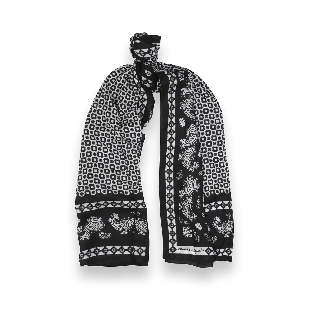 Esquivel Scarves Cinabre Black