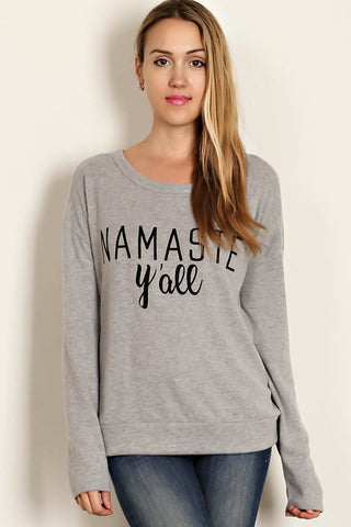 Namaste Y'all Sweater