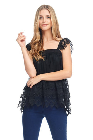 Adeline lace top