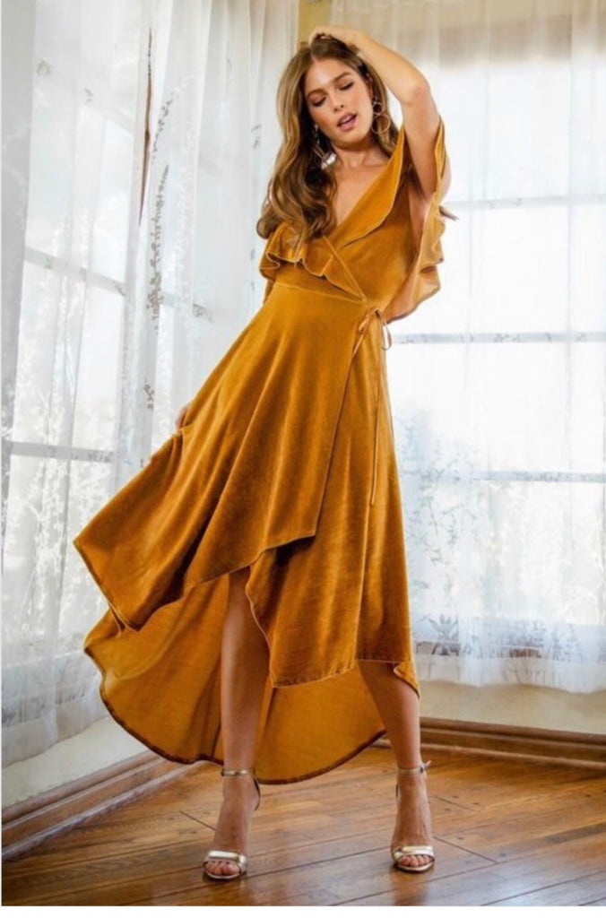 Golden Girl Dress
