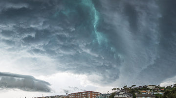 Massive Storm Rolling Over Balmoral Beach
