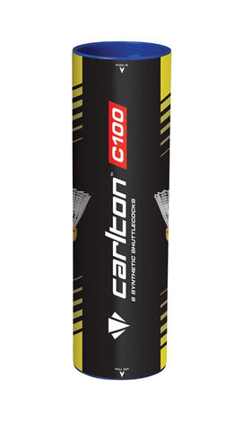 Carlton C100 Entry Level Badminton Shuttles (Pack of 12)