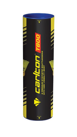 Carlton T800 Club Practice Yellow Badminton Shuttles (Pack of 12)