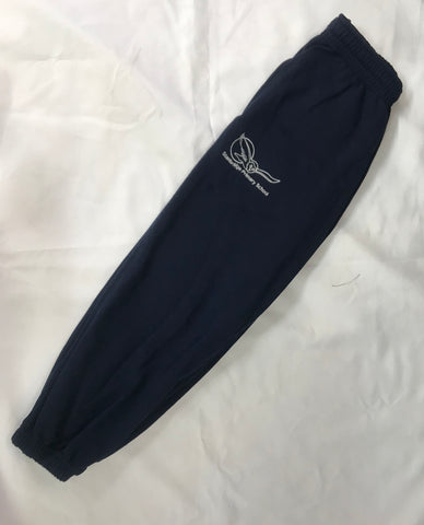 Navy Fleece Jogging Bottoms (SS)