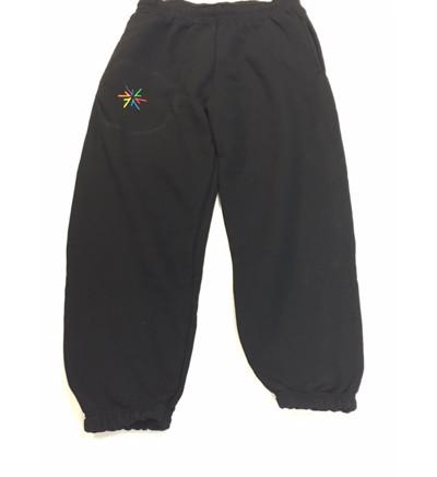 Boys and Girls Black Jogging Bottoms (AWS)