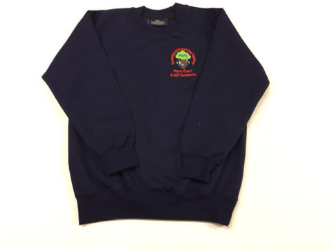 Navy Embroidered Sweatshirt (PCA)