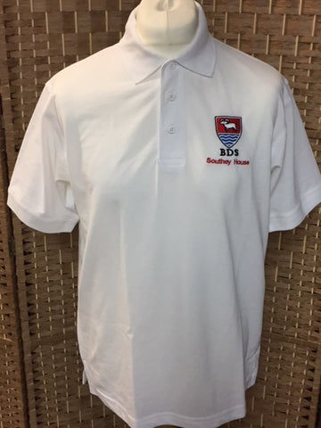 White School Polo Shirt (BDS)