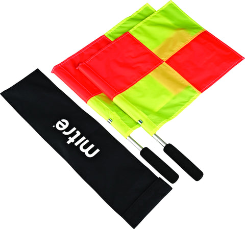 Mitre Linesman Sticks and Flags Set