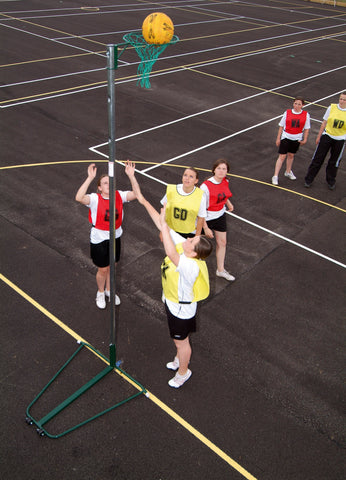 Freestanding School Use Netball Posts