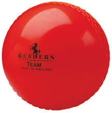 Readers Team Cricket Ball 2.5oz