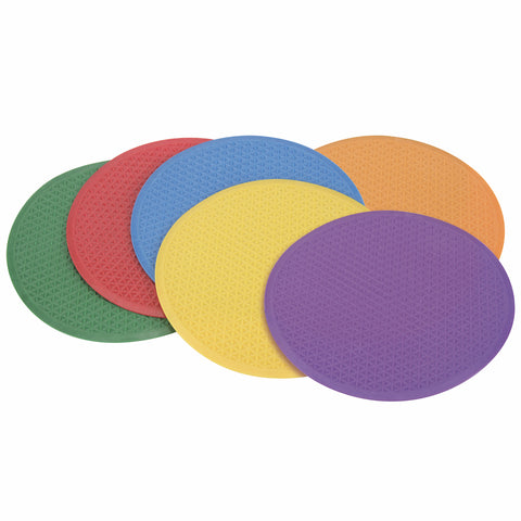 Tactile Circles - 24cm (Pack Of Six)