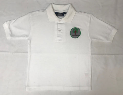 White Embroidered Polo Shirt (BWA)