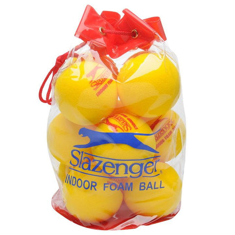 Slazenger Indoor Foam Ball (Bag Of 12)