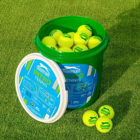 Bucket (60) Slazenger Stage 1 Intro Low Compression Tennis Balls