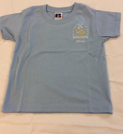 House Tee Shirt - Sky (Brunel) (SP)