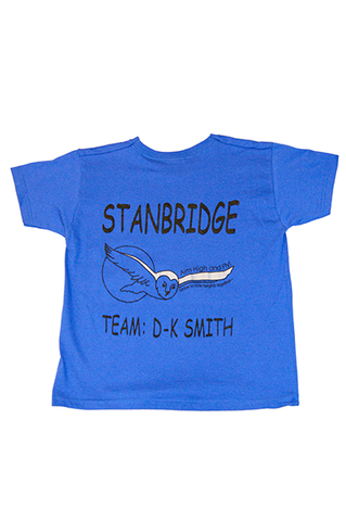 T Shirt Royal Blue (D-K Smith) (SS)