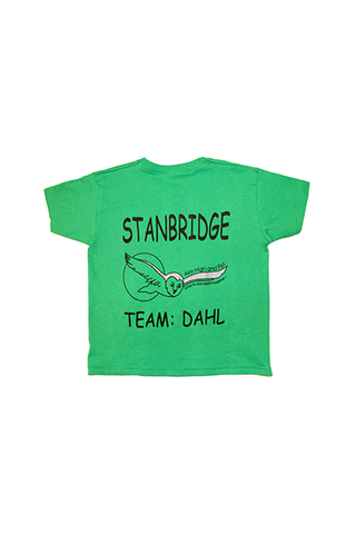 T Shirt Emerald Green (Dahl) (SS)